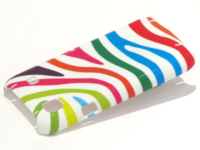 Color Zebra Case Hoes voor Samsung Galaxy S (Plus)