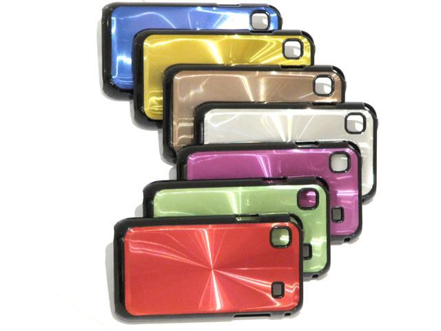 Disc Series Aluminium Case Hoes Samsung Galaxy S (Plus)