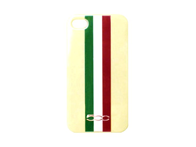 Fiat 500 Tricolore Back Case Hoesje voor iPhone 4/4S