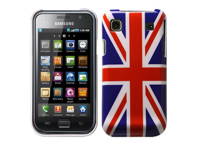 Great Brittain Flag Case Hoes voor Samsung Galaxy S (Plus)