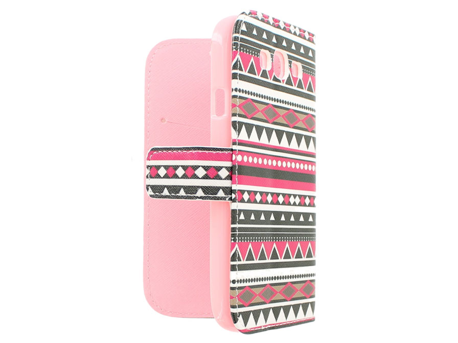 Aztec Book Case - Samsung Galaxy Grand Neo (Plus) Hoesje