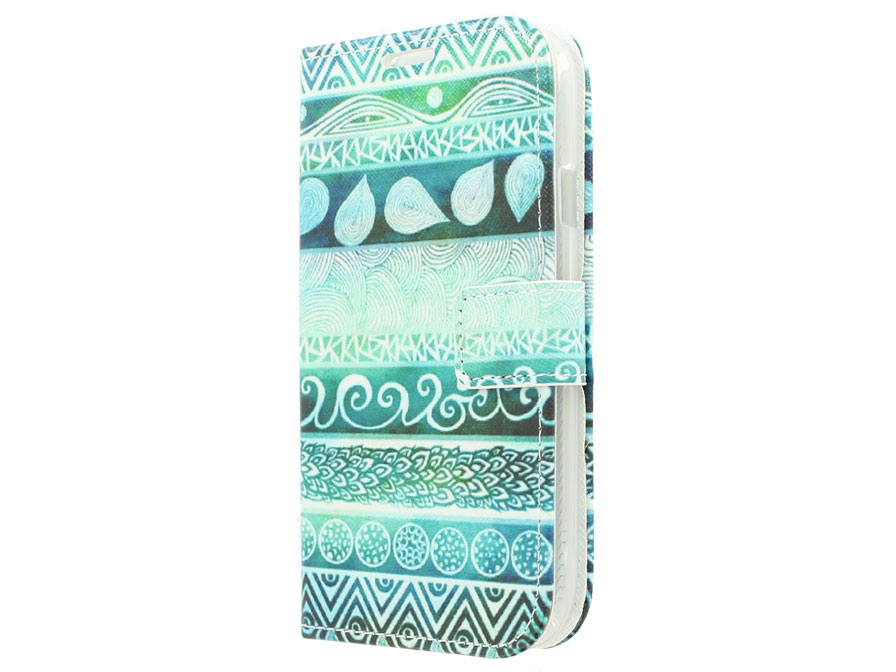 Aztec Wallet Case - Samsung Galaxy Grand Neo (Plus) Hoesje