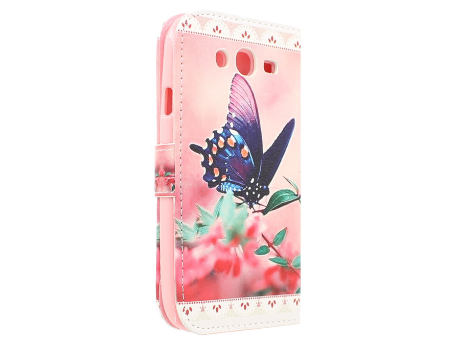 Butterfly Book Case Hoesje voor Samsung Galaxy Grand Neo (Plus)