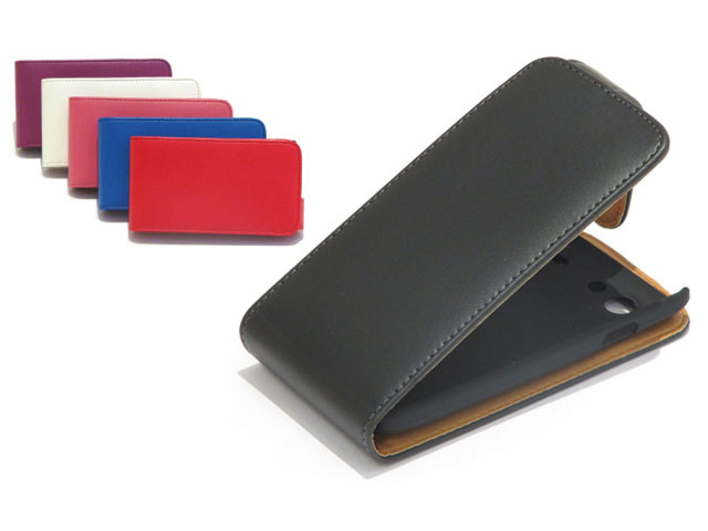 Classic Leather Flip Case Samsung Galaxy S Advance (i9070)