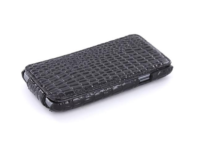 Croco Slimline Flip Case Hoes Samsung Galaxy S Advance i9070