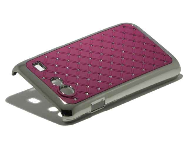 Diamond Deluxe Hard Case Hoesje voor Samsung Galaxy S Advance (i9070)