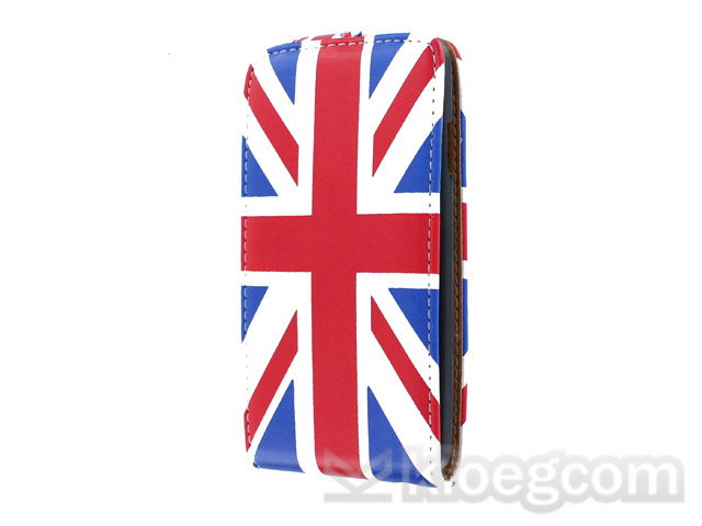 Great Brittain Flip Case voor Samsung Galaxy S Advance (i9070)