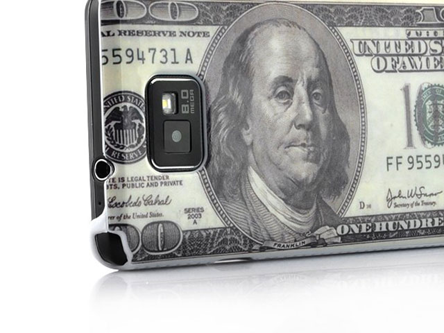100 Dollar Bill Case Hoesje voor Samsung Galaxy S2 i9100