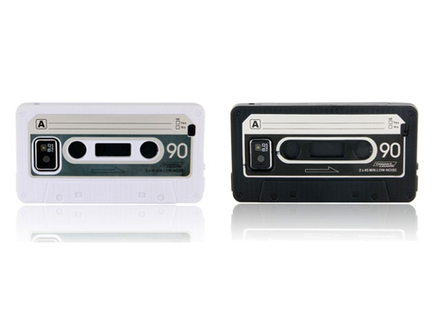 Cassette Tape TPU Case Hoes voor Samsung Galaxy S2