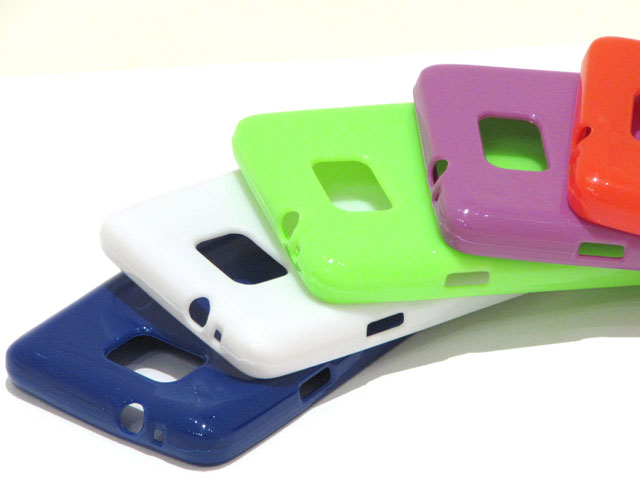 Color Series TPU Case Hoes Samsung Galaxy S2 i9100