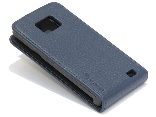 Colored Slim Elegant Leather Case Samsung Galaxy S2