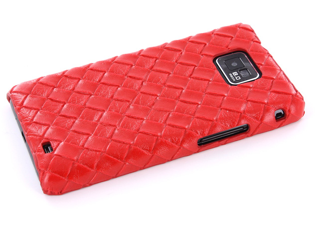Handwoven Back Case Hoes Samsung Galaxy S2 i9100