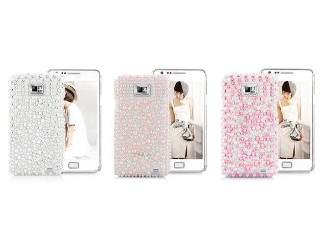 Diamonds and Pearls Hard Case voor Samsung Galaxy S2 i9100