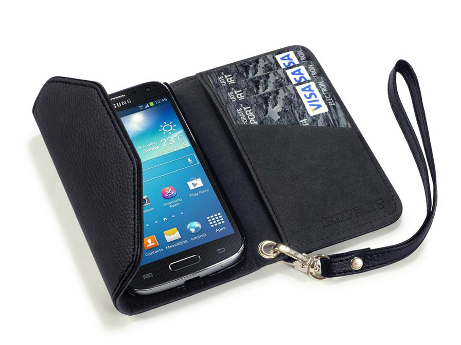 Covert Trifold Purse Wallet Case voor Samsung Galaxy S4 Mini