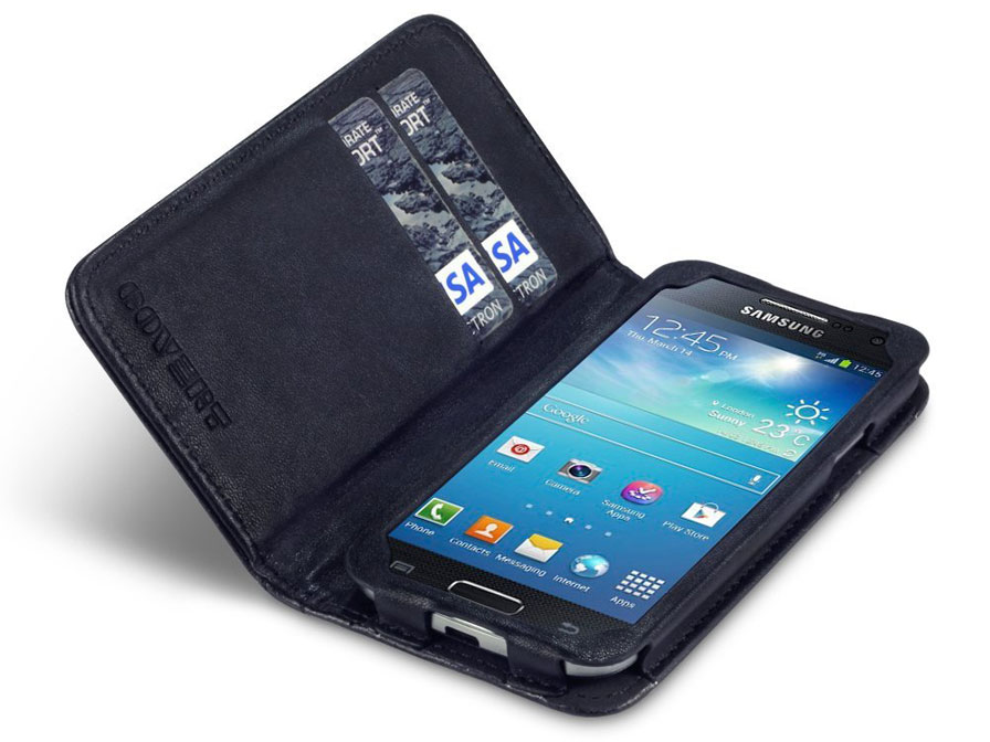 Covert Stardust Studded Wallet Case Hoesje Samsung Galaxy S4 Mini