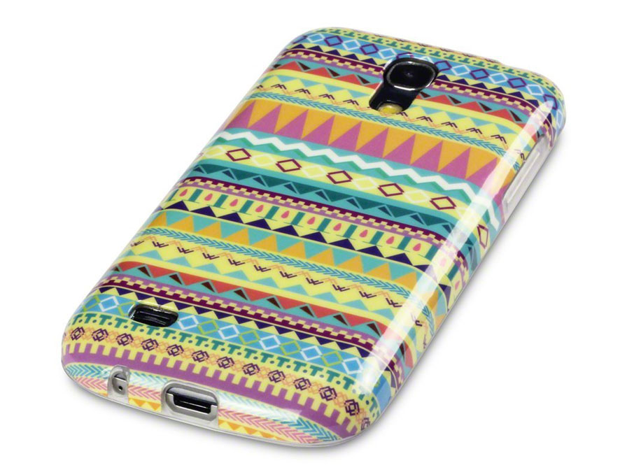 CaseBoutique Aztec Soft Case Hoesje voor Samsung Galaxy S4 Mini