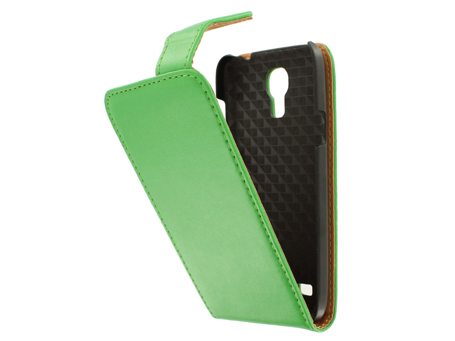 Classic Leather Case voor Samsung Galaxy S4 Mini (i9190)