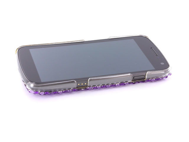 Diamond Circle Diamond Case Hoes Samsung Galaxy Nexus