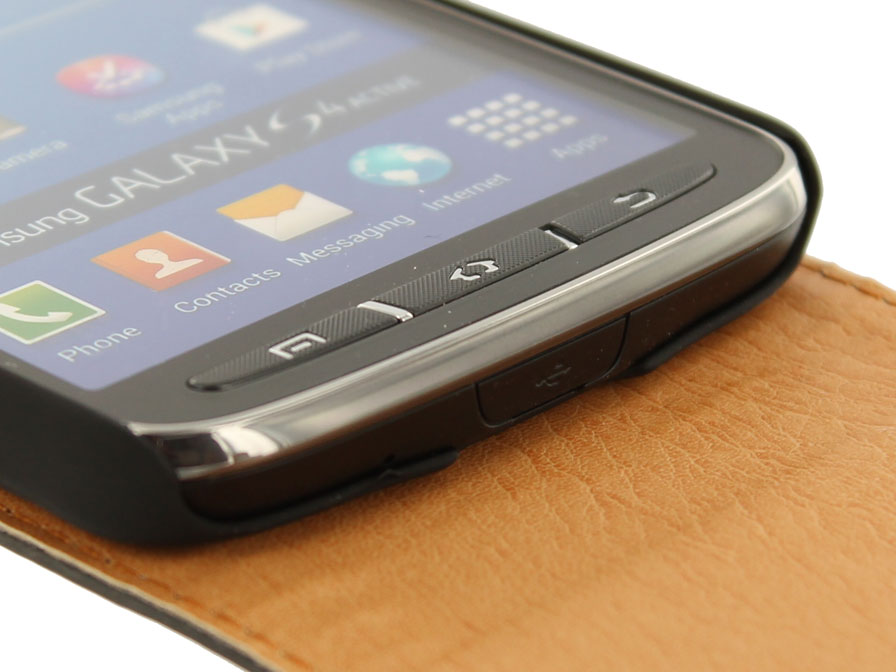 Classic Leather Case voor Samsung Galaxy S4 Active
