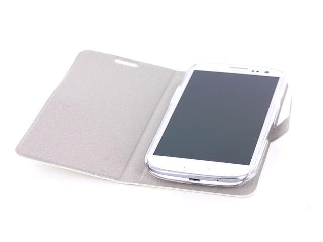 4 Ok Kunstleren Slim Fit Case Voor Samsung Galaxy S3 I9300