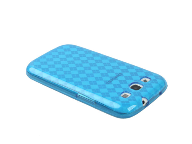 Argyle TPU Case Hoes voor Samsung Galaxy S3 (i9300)