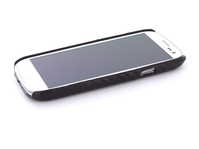 Carbon Back Case Cover voor Samsung Galaxy S3 (i9300)