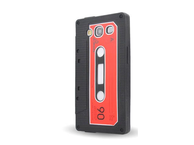 Cassette Tape Silicone Skin Hoes voor Samsung Galaxy S3 (i9300)