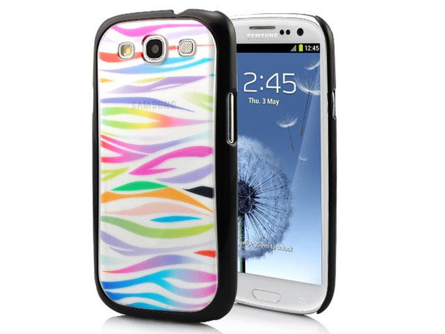Color Zebra Case Hoes voor Samsung Galaxy S3 (i9300)