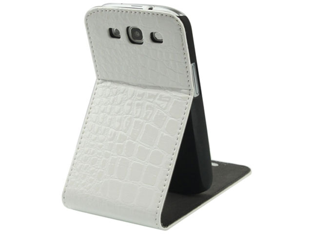 Croco Bottomflip Stand Case Samsung Galaxy S3 (i9300)