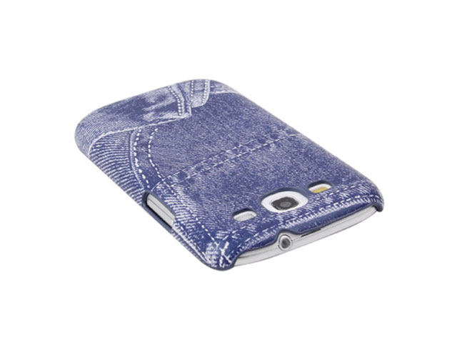Denim-Look Hard Case Hoesje voor Samsung Galaxy S3 (i9300)