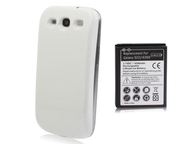 High Capacity 4300mAh Accu Samsung Galaxy S3 (i9300)