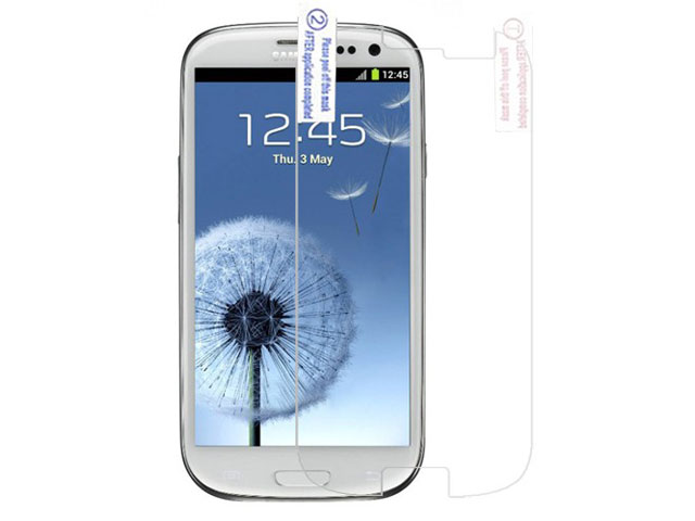Clear Screenprotector Samsung Galaxy S3 (i9300)