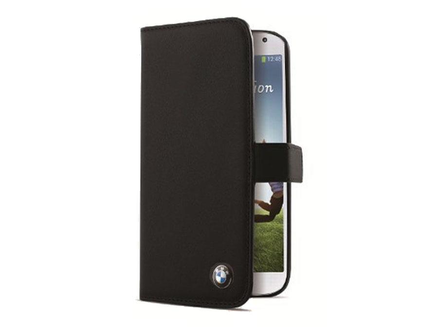 Bmw Lederen Bookcase Hoesje Voor Samsung Galaxy S4