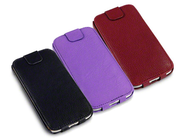 Covert Slim Bottomflip Case Hoesje voor Samsung Galaxy S4 (i9500)