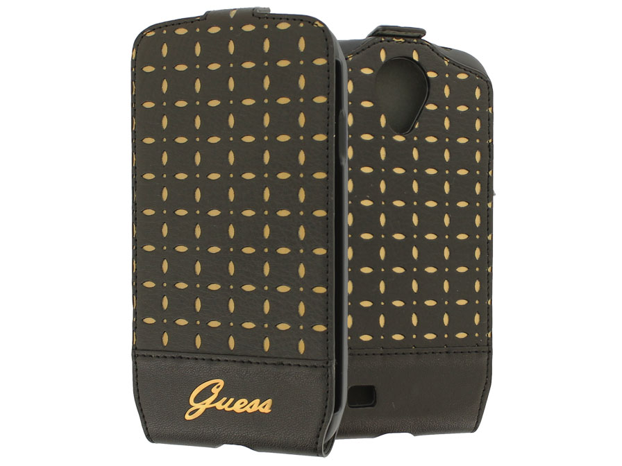 Guess Collection Gianina - Flip Case voor Samsung Galaxy S4