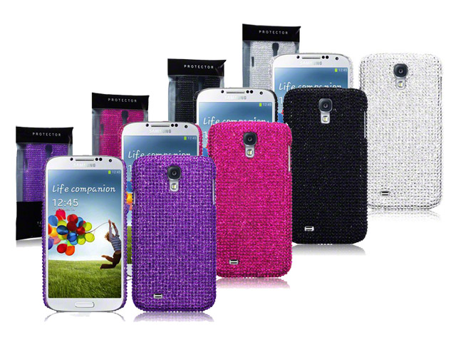 CaseBoutique Diamante Case Hoesje voor Samsung Galaxy S4 (i9500)