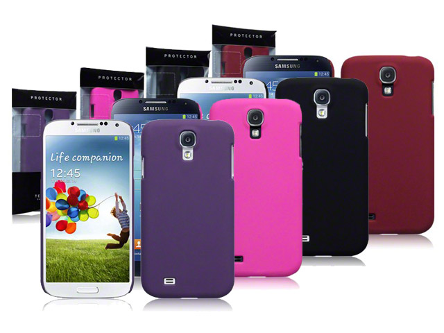 CaseBoutique Frosted Hard Case Hoesje voor Samsung Galaxy S4 (i9500)