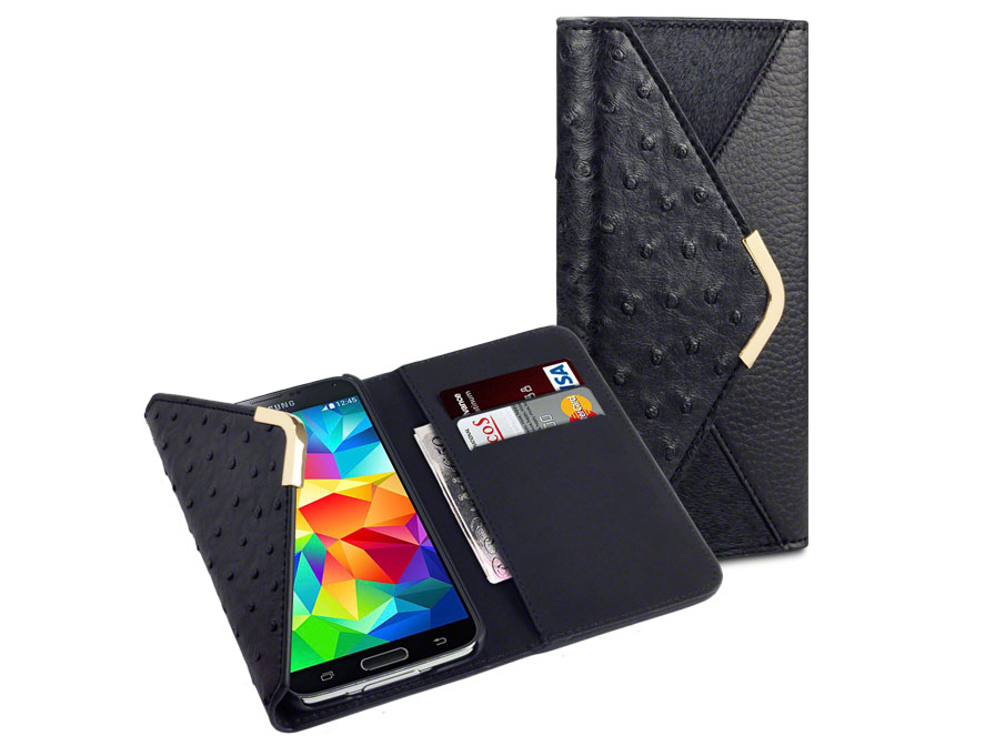 C by Covert Suki - Wallet Case Hoesje voor Samsung Galaxy S5