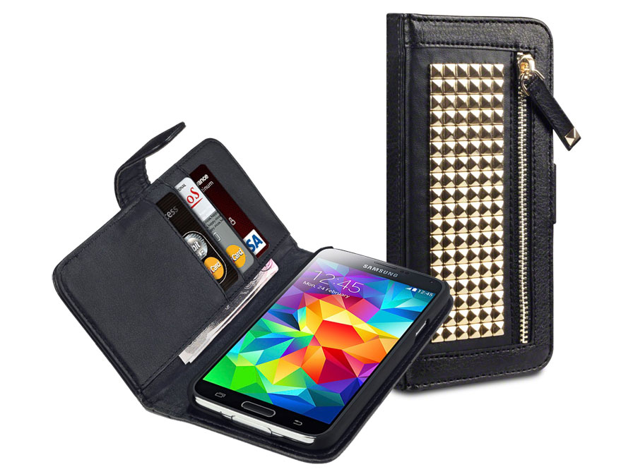 Covert Roxie Studded Wallet Case Hoesje voor Samsung Galaxy S5
