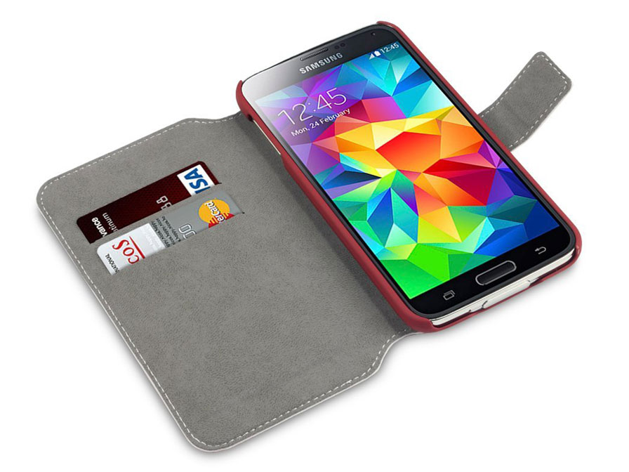 Covert UltraSlim Book Case - Hoesje voor Samsung Galaxy S5