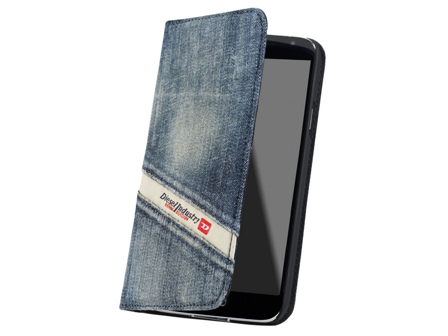 Diesel Denim Book Case - Hoesje voor Samsung Galaxy S5
