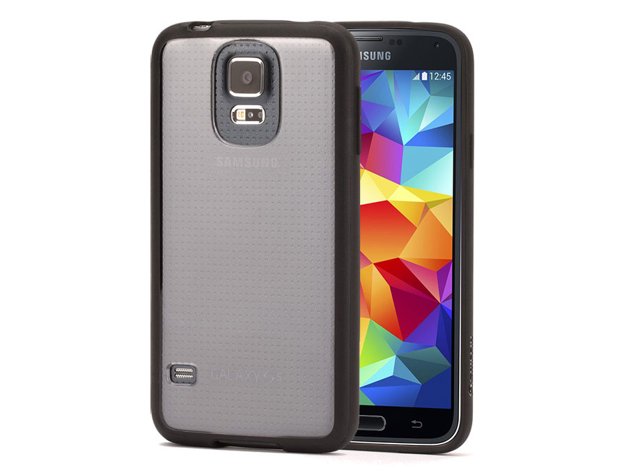 Griffin Reveal Clear Back Case - Hoesje voor Samsung Galaxy S5
