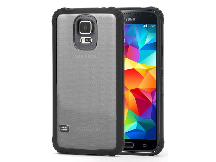 Griffin Survivor Clear - Heavy Duty Case voor Samsung Galaxy S5