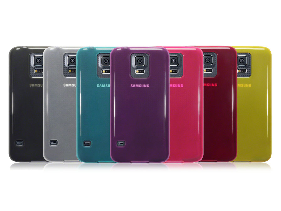 CaseBoutique TPU Soft Case - Hoesje voor Samsung Galaxy S5