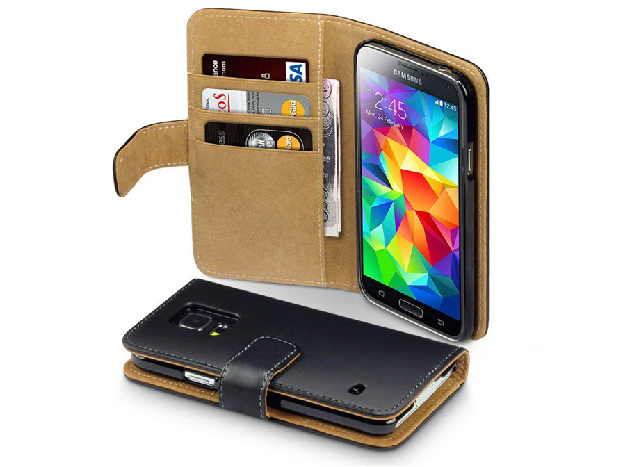 CaseBoutique Wallet Case - Hoesje voor Samsung Galaxy S5