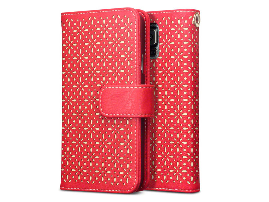 CaseBoutique Gracey Wallet Case - Hoesje voor Samsung Galaxy S5