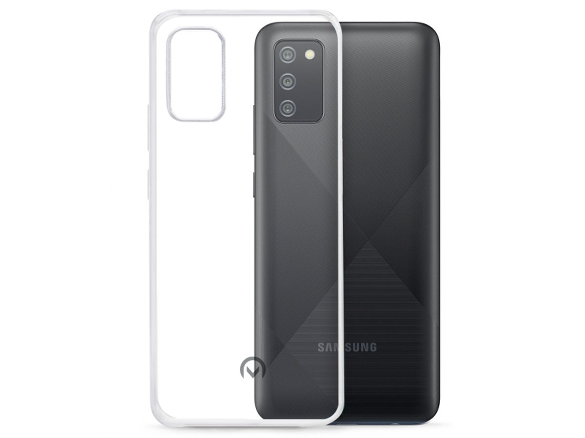Mobilize Clear TPU Case - Samsung Galaxy A02s hoesje Transparant