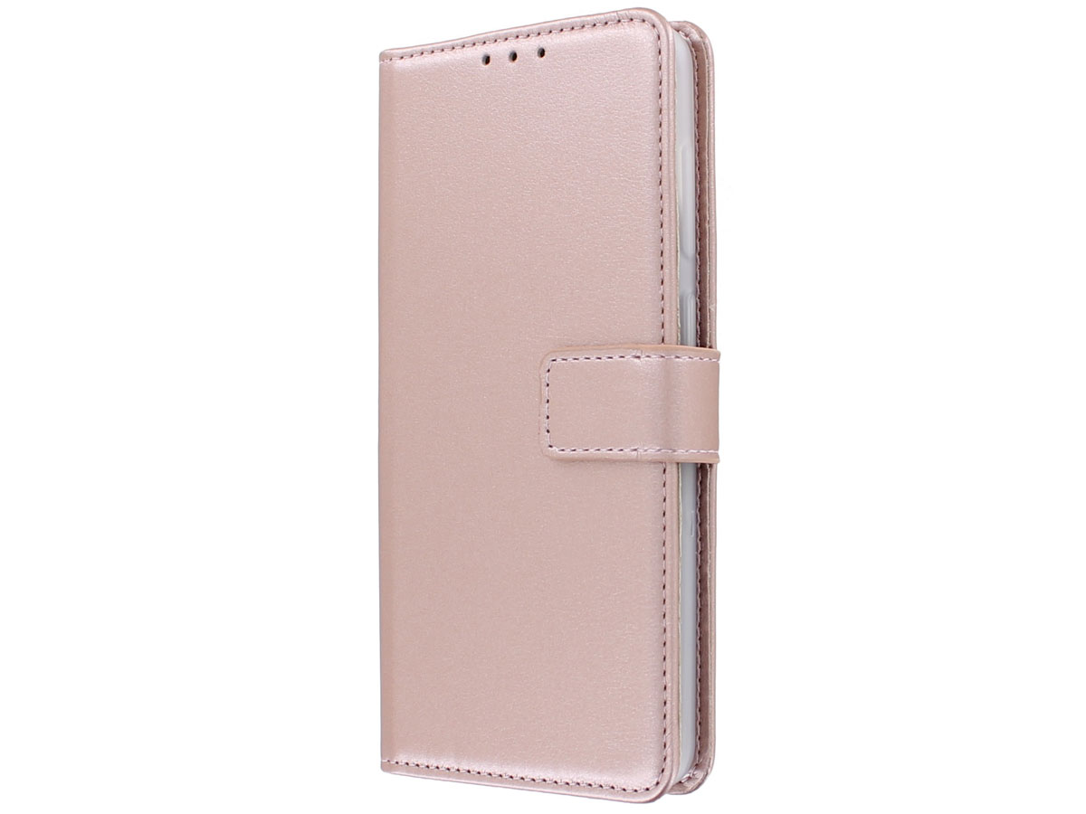 Bookcase Mapje Rosé - Samsung Galaxy A31 hoesje