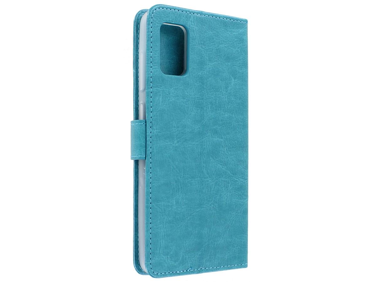 Bookcase Mapje Turquoise - Samsung Galaxy A31 hoesje