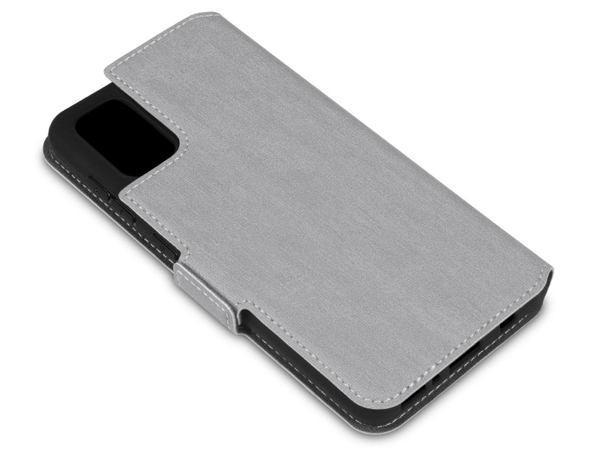 CaseBoutique Slim Bookcase Grijs - Samsung Galaxy A41 hoesje